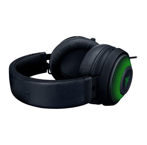 Razer Kraken Ultimate RGB USB Gaming Headset With THX 7.1 Spatial Surround Sound - Chroma RGB Lighting - Black RZ04-03180100-R3M1