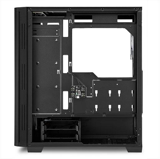Sharkoon RGB LIT 200 ATX midi tower Gaming PC Case
