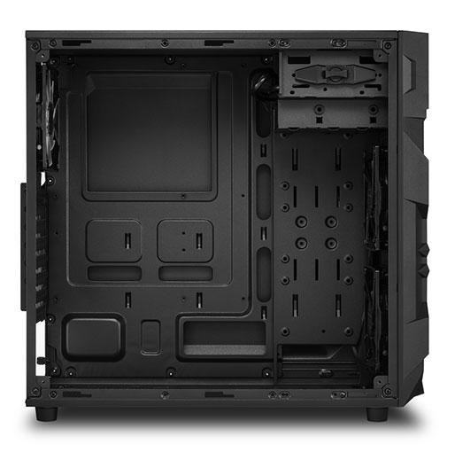 Sharkoon VG7-W ATX midi tower Gaming PC Case