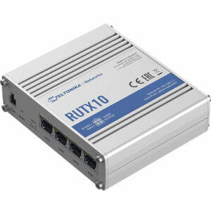 Buy Teltonika RUTX10 Industrial Professional Gigabit Ethernet Router in Qatar