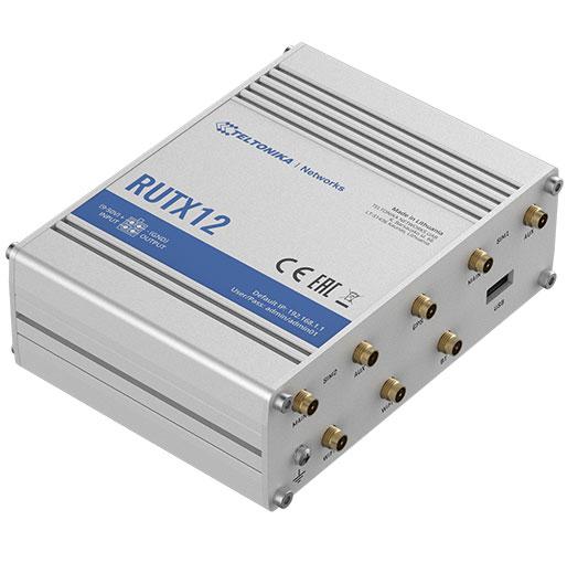Teltonika RUTX12 Dual LTE CAT 6 Industrial Cellular Router