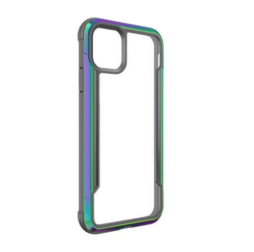 "X-Doria iPhone 12 Pro Max 6.7"" Defense Shield Military Grade Antimicrobial Case - Iridescent"