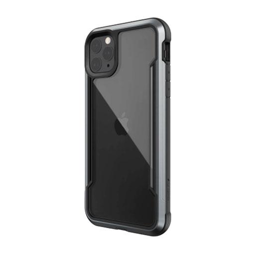 """X-Doria iPhone 12 Pro Max 6.7"""" Defense Shield Military Grade Antimicrobial Case - Black"""