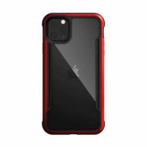 "Buy X-Doria iPhone 12 Pro Max 6.7"" Defense Shield Military Grade Antimicrobial Case - Red in Qatar"