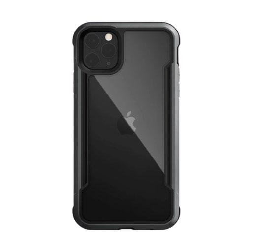 "Buy X-Doria iPhone 12 Pro Max 6.7"" Defense Shield Military Grade Antimicrobial Case - Black in Qatar"