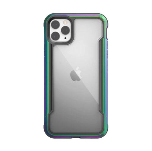 "Buy X-Doria iPhone 12 Pro Max 6.7"" Defense Shield Military Grade Antimicrobial Case - Iridescent in Qatar"