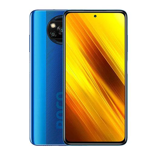 Buy Xiaomi Poco X3 Dual SIM 6GB RAM 128GB 4G LTE Cobalt Blue in Qatar