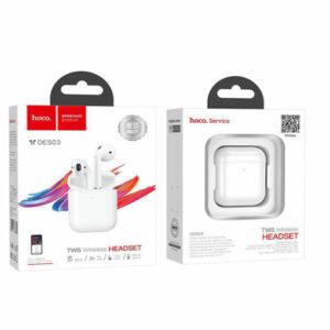 Buy Hoco DES03 Bluetooth headset earbuds at best price in Qatar.