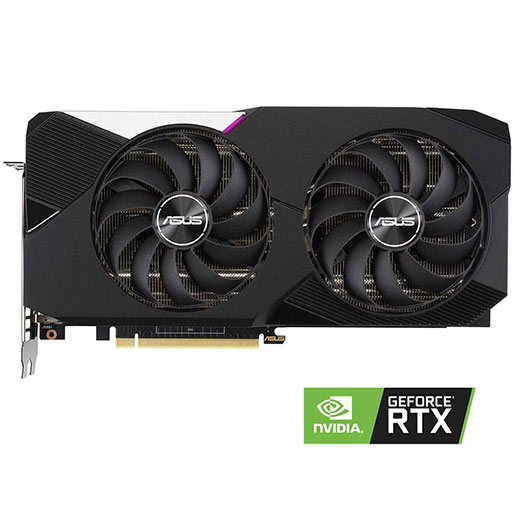 Buy ASUS Dual GeForce RTX 3070 DirectX 12 DUAL-RTX3070-8G 8GB 256-Bit GDDR6 PCI Express 4.0 HDCP Ready Video Card at best price in Qatar.