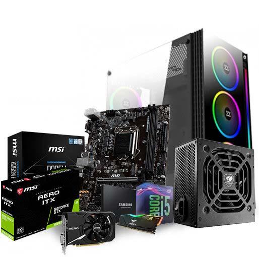 Buy Intel Core i5-9400F 2.9 GHz, B550, 16GB (8GB x2),500GB Solid State Drive (SSD), GeForce GTX 1650 Aero ITX 4GB GDDR6 - Mid Tower Gaming Desktop PC at best price in Qatar.