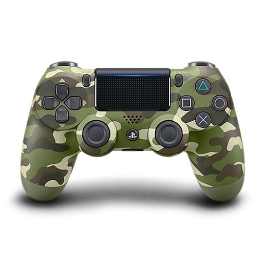 Buy Sony PS4 DUALSHOCK 4 Wireless Controller for PS4 - Green Camouflage Army Camo at best price in Qatar.