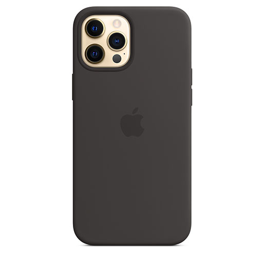 Apple iPhone 12 Pro Max 6.7 Silicone Case with MagSafe MHLG3ZMA - Black