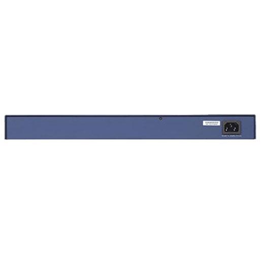 NETGEAR FS728TP ProSAFE 24-Port Smart Managed Rackmount Fast Ethernet PoE Switch w/ 2 x 1GbE RJ45/SFP Combo Ports (192W)