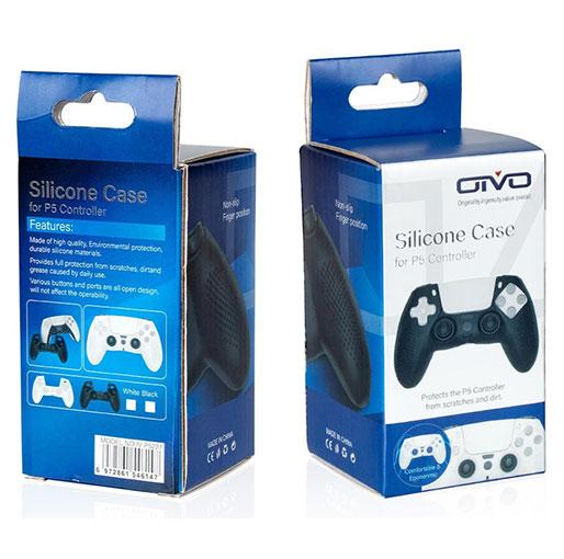 OIVO Silicone case for PS5 DualSense controller (PS5) Black (OIVO IV-P5227)