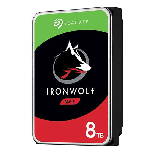 "Seagate IronWolf 8TB 7200 RPM 256MB Cache SATA 6.0Gb/s 3.5"" Internal Hard Drive ST8000VN004"