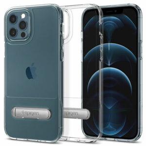 """Buy Spigen iPhone 12/iPhone 12 Pro 5.4"""" Case Slim Armor Essential S in Qatar"""