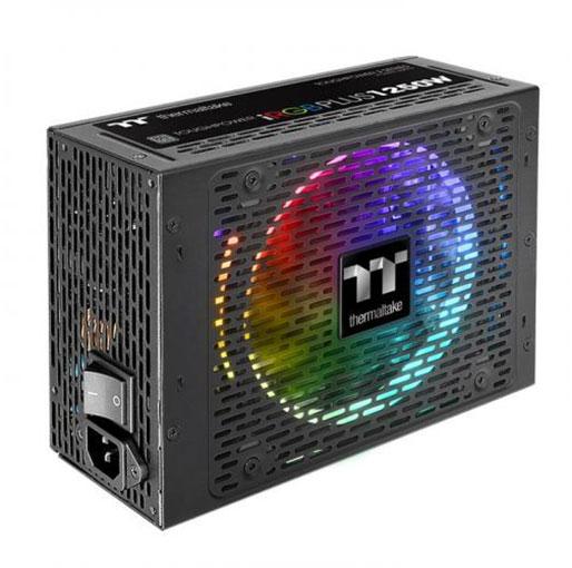 Thermaltake Toughpower iRGB Plus 1250W 80 PLUS TITANIUM Certified Full Modular Active PFC Power Supply