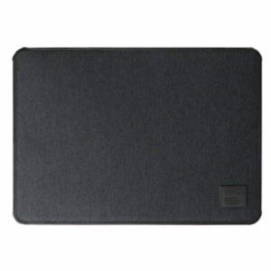 Buy UNIQ (Upto 15 inch) Dfender Tough Laptop Magnetic Snap Sleeve - Charcoal in Qatar