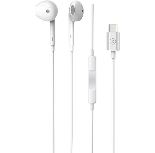 Buy Xcell HS210CS Wired stereo Headset Type C White at best price in Qatar.