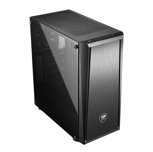 Cougar MX340 Gaming Case with Tempered Glass Side Window
