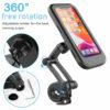 HL-69 Waterproof Box Mobile Phone Holder Universal Bicycle Handlebar Phone Holder