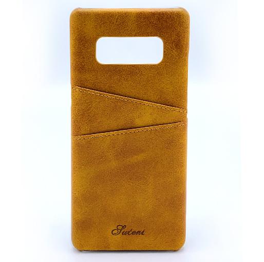Samsung Galaxy Note 8 Leather Case Caramel