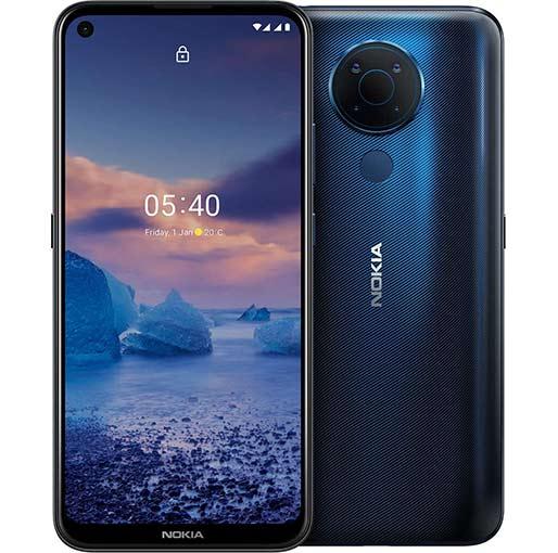 Buy Nokia 5.4 4GB 128GB -Blue at best price in Qatar.
