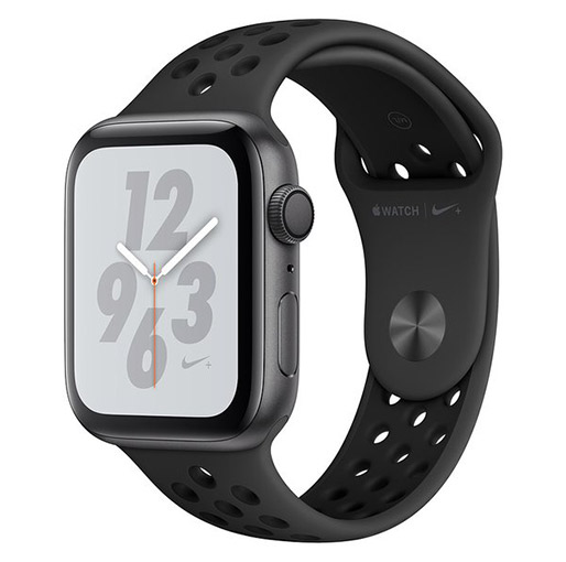 Buy Apple Nike+ Series 4 GPS + Cellular 40mm Space Grey Aluminium Case With Anthracite/Black Nike Sport Band at best price in Qatar.
