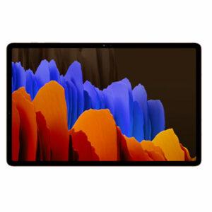 Buy Samsung Galaxy Tab S7+ 256GB Tablet (Wi-Fi Only, Mystic Bronze) in Qatar