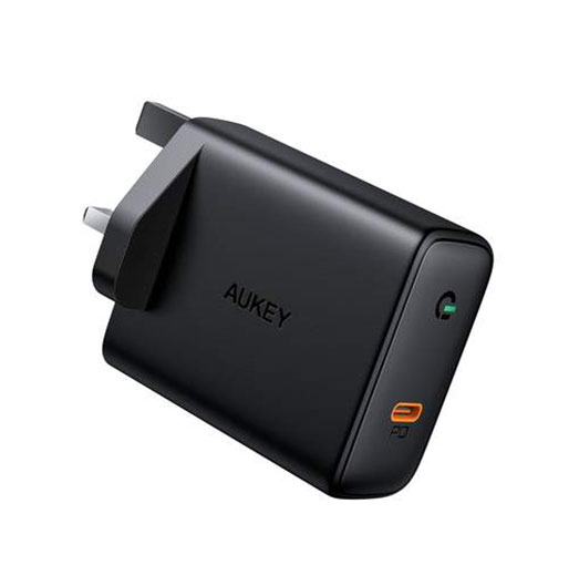 Aukey Focus 60W USB-C Power Delivery Charger with GaN Power Tech