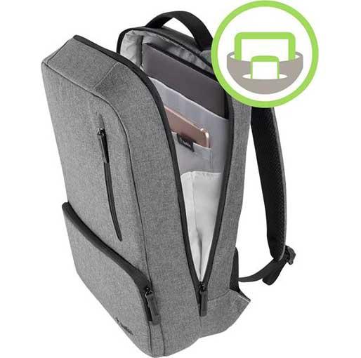 """Belkin Laptop backpack F8N900btBLK Suitable for up to: 39,6 cm (15,6"""") Grey"""
