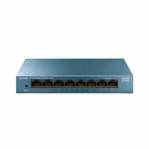 TP-Link Lim8-Port 10/100/1000Mbps Desktop Network Switch