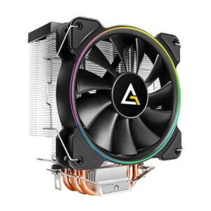 Buy Antec A400 RGB 120mm CPU Cooler, 4-Pin Connector PWM Silent Fan for Intel and AMD at best price in Qatar.