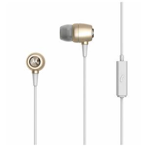 Buy Motorola Sterio Metal Ear Buds In-Ear Headphones MMEG - Gold at best price in Qatar.