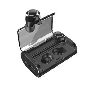 Buy Energizer UB2605 True Wireless Stereo In-Ear Earbuds Bluetooth 5.0, Waterproof With 2600mAh Digital Display Charging Case - Black at best price in Qatar.