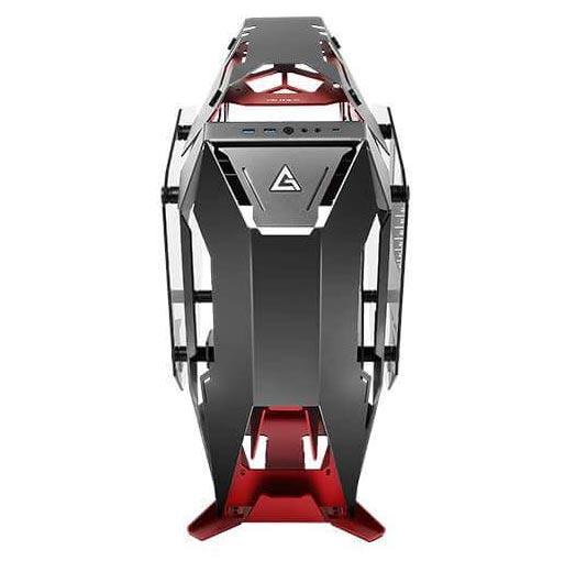 Antec TORQUE Black Red Aluminum ATX Mid Tower Computer Case 18