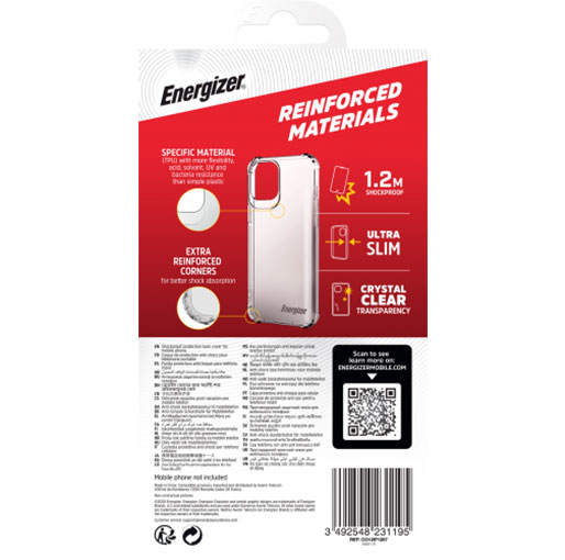 Energizer ON DEMAND - Antishocks cover 1.2m - iPhone 12 Pro Max