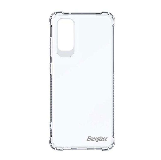 Buy Energizer Shockproof Ultra-Slim Anti Scratch Back Case For Samsung S20 Transparent in Qatar