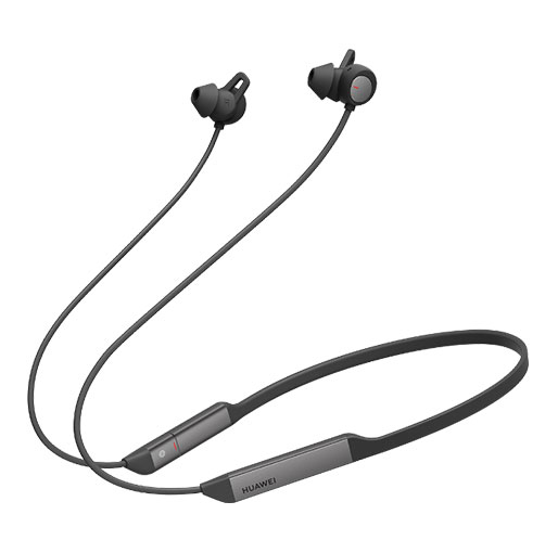 Buy Huawei FreeLace Pro Dual-mic Active Noise Cancellation - Graphite Black in Qatar