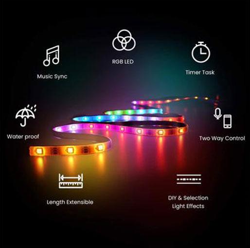 LifeSmart COLOLIGHT Strip Plus WiFi Smart 60 LED Lights