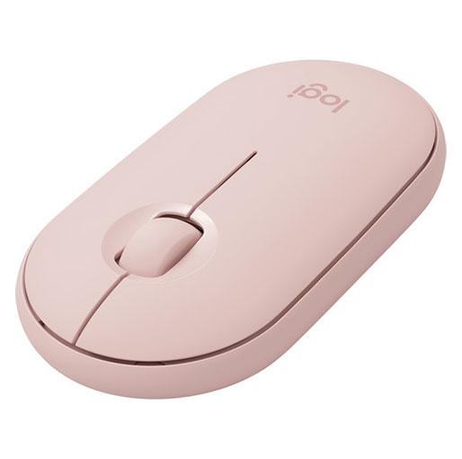 Logitech Pebble M350 Wireless Mouse (Rose)