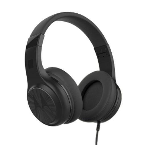 Motorola Pulse120-Black, Wired Headphones with Enhanced Bass