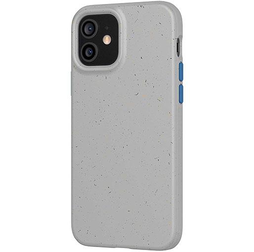 tech21 Eco Slim for Apple iPhone 12 and 12 Pro - Mushroom Grey