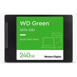 "Buy Western Digital 240GB WD Green Internal PC SSD - SATA III 6 Gb/s, 2.5""/7mm at best price in Qatar."
