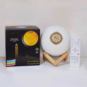 Buy MOON LAMP QUR'AN SPEAKER SQ-168 at best price in Qatar.