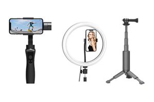 Shop Tripods, Mounts & Gimbals for Phone in Qatar