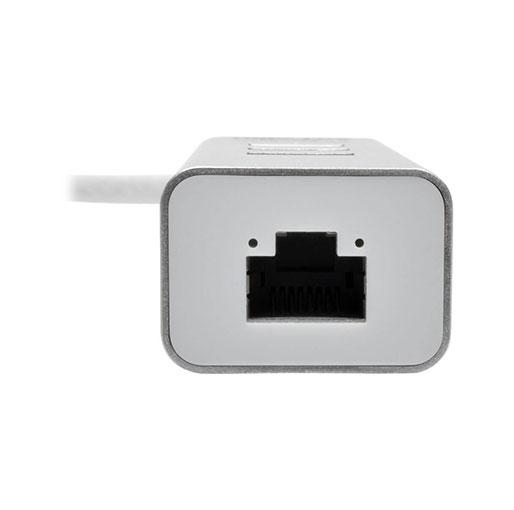 Tripp Lite USB 3.0 SuperSpeed to Gigabit Ethernet NIC Network Adapter with 3 Port USB 3.0 Hub