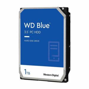 WD Blue 1TB Desktop Hard Disk Drive - 7200 RPM SATA 6Gb/s 64MB Cache 3.5 Inch