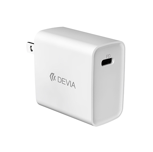 Buy DEVIA SDevia Smart Series PD Quick Charger 3wsza`UK 20W With Type -C Lightning Cable 1M - White at best price in Qatar.