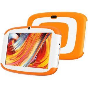 Buy G-Tab Q3 7-inch Kids Tablet 16 GB Storage - Orange at best price in Qatar.
